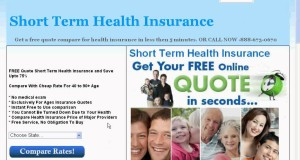 Affordable Rate Short Term Health Insurance