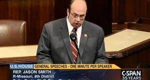Congressman Jason Smith voices support for the Save American Workers Act