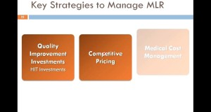 Key Strategies to Manage MLR — Lessons Learned from the Latest Research
