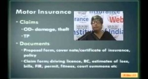 Life insurance, IC 11 Chapter 4 Motor Insurance & Personal Liability Insurance