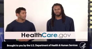Richard Sherman & Russell Wilson: #GetCovered by February 15