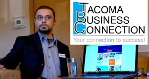 Ryu Patel shares about Legal Shield and health insurance with the Tacoma Business Connection